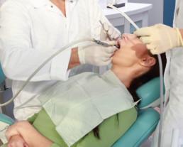 photo of dental exam